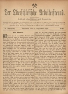 Der Oberschlesische Arbeiterfreund, 1901/1902, Jg. 2, No 47