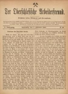 Der Oberschlesische Arbeiterfreund, 1901/1902, Jg. 2, No 88