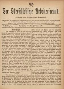 Der Oberschlesische Arbeiterfreund, 1901/1902, Jg. 2, No 95