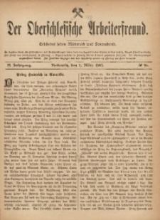 Der Oberschlesische Arbeiterfreund, 1901/1902, Jg. 2, No 96