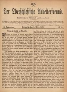Der Oberschlesische Arbeiterfreund, 1901/1902, Jg. 2, No 98