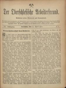 Der Oberschlesische Arbeiterfreund, 1902/1903, Jg. 3, No 4