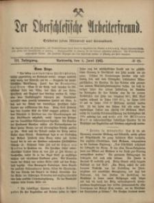 Der Oberschlesische Arbeiterfreund, 1902/1903, Jg. 3, No 19