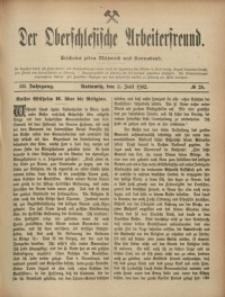 Der Oberschlesische Arbeiterfreund, 1902/1903, Jg. 3, No 28