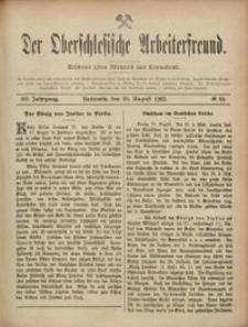 Der Oberschlesische Arbeiterfreund, 1902/1903, Jg. 3, No 44