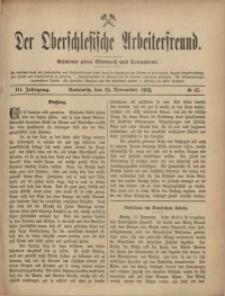 Der Oberschlesische Arbeiterfreund, 1902/1903, Jg. 3, No 67