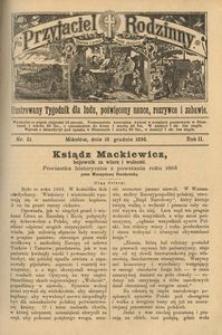 Przyjaciel Rodzinny, 1896, R. 2, nr 52