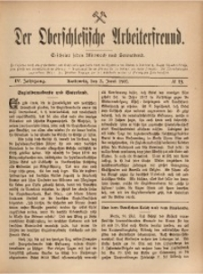 Der Oberschlesische Arbeiterfreund, 1903/1904, Jg. 4, No 19