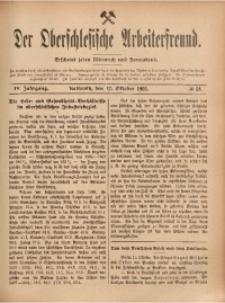 Der Oberschlesische Arbeiterfreund, 1903/1904, Jg. 4, No 58