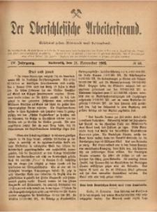 Der Oberschlesische Arbeiterfreund, 1903/1904, Jg. 4, No 68
