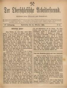 Der Oberschlesische Arbeiterfreund, 1904/1905, Jg. 5, No 62