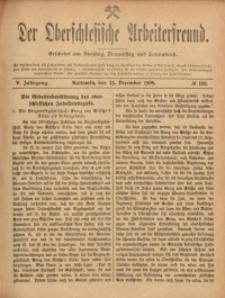 Der Oberschlesische Arbeiterfreund, 1904/1905, Jg. 5, No 108