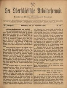 Der Oberschlesische Arbeiterfreund, 1904/1905, Jg. 5, No 109