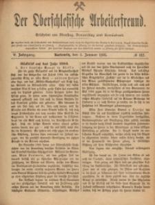Der Oberschlesische Arbeiterfreund, 1904/1905, Jg. 5, No 117