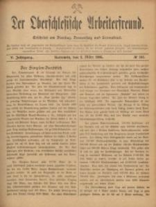 Der Oberschlesische Arbeiterfreund, 1904/1905, Jg. 5, No 141