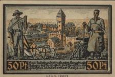 Kluczbork. Pieniądz zastępczy 1921 r.