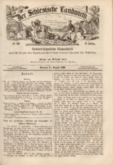 Der Schlesische Landwirth, 1866, Jg. 2, No 32