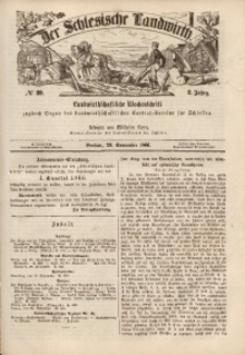 Der Schlesische Landwirth, 1866, Jg. 2, No 39