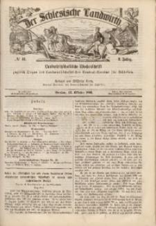 Der Schlesische Landwirth, 1866, Jg. 2, No 41