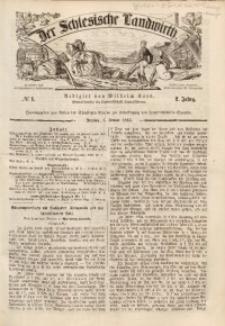 Der Schlesische Landwirth, 1866, Jg. 2, No 1