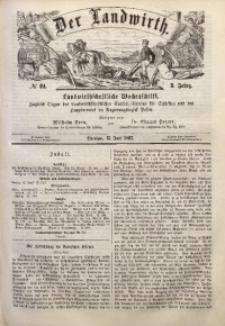 Der Landwirth, 1867, Jg. 3, No 24