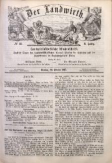 Der Landwirth, 1867, Jg. 3, No 41