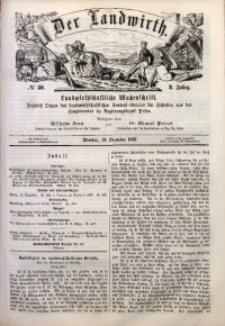 Der Landwirth, 1867, Jg. 3, No 50