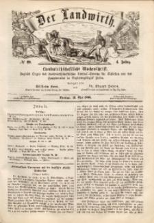 Der Landwirth, 1868, Jg. 4, No 20