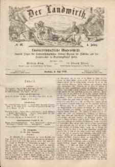 Der Landwirth, 1868, Jg. 4, No 27