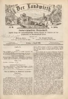 Der Landwirth, 1868, Jg. 4, No 31
