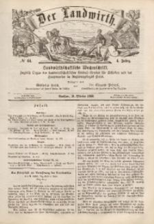 Der Landwirth, 1868, Jg. 4, No 44