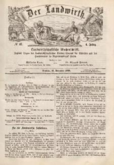 Der Landwirth, 1868, Jg. 4, No 47