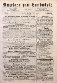 Anzeiger des Schlesischen Landwirth, 1867, Jg. 3, No 28