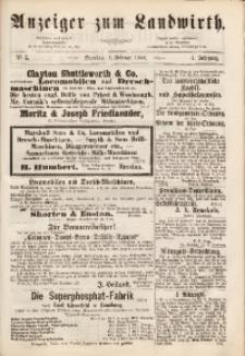 Anzeiger des Schlesischen Landwirth, 1868, Jg. 4, No 5