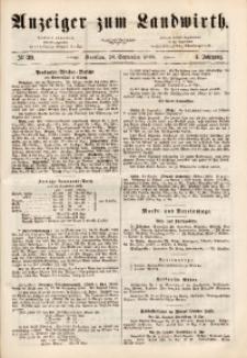 Anzeiger des Schlesischen Landwirth, 1868, Jg. 4, No 39