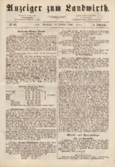 Anzeiger des Schlesischen Landwirth, 1868, Jg. 4, No 41