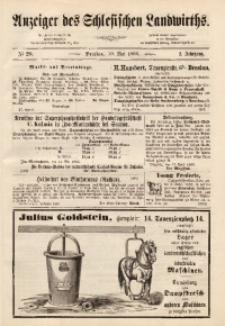 Anzeiger des Schlesischen Landwirth, 1866, Jg. 2, No 20
