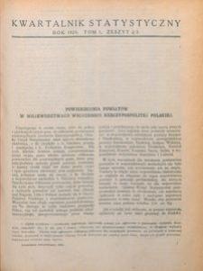 Kwartalnik Statystyczny, 1924, T. 1, z. 2/3