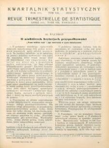 Kwartalnik Statystyczny, 1931, T. 8, z. 4