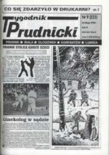 Tygodnik Prudnicki : Prudnik, Biała, Głogówek, Korfantów, Lubrza. R. 6, nr 9 (223).