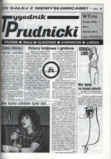Tygodnik Prudnicki : Prudnik, Biała, Głogówek, Korfantów, Lubrza. R. 6, nr 12 (226).