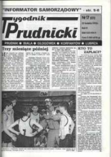 Tygodnik Prudnicki : Prudnik, Biała, Głogówek, Korfantów, Lubrza. R. 6, nr 17 (231).