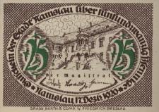 Namysłów. Pieniądz zastępczy 1920 r.