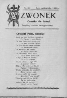 Dzwonek, 1928, nr 24
