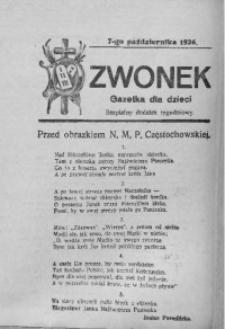 Dzwonek, 7 października 1926