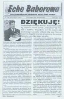 Echo Baborowa : pismo mieszkańców miasta i gminy Baborów 2003, nr 7.
