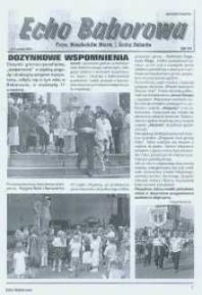 Echo Baborowa : pismo mieszkańców miasta i gminy Baborów 2005, nr 14.