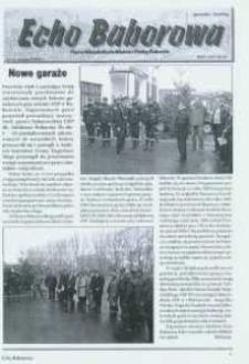 Echo Baborowa : pismo mieszkańców miasta i gminy Baborów 2006, nr 13.