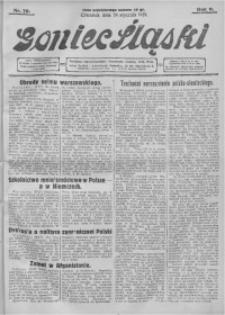 Goniec Śląski, 1929, R. 9, nr 20