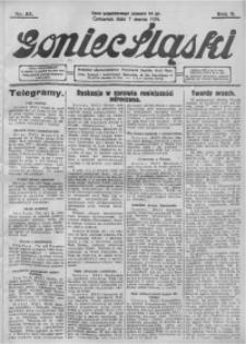 Goniec Śląski, 1929, R. 9, nr 55